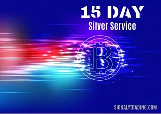 15 روز اشتراک نقره ای سیگنالی تریدینگ