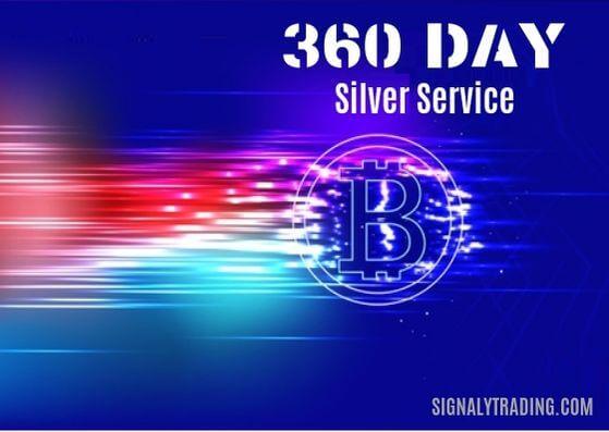 360 روز اشتراک نقره ای سیگنالی تریدینگ